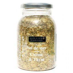 Sea salt lemon and thyme recharging 580 g