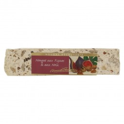 Figs walnuts nougat bar
