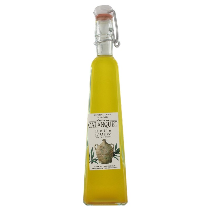 Huile d'olive vierge Extra Assemblage 120ml forme triangulaire