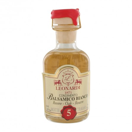 Vinaigre blanc balsamique 5 ans 50 ml