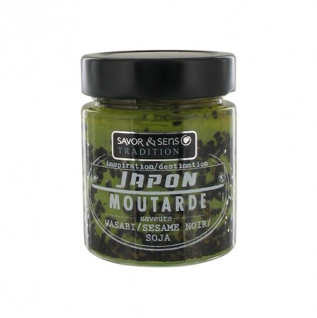 Moutarde Japon (wasbi/sesame noir/Soja)
