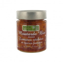 Bio mustard dried tomatoes and smoked spices