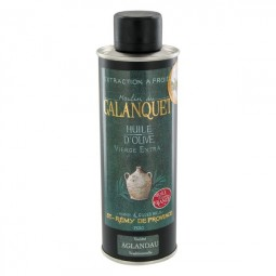 Olive oil Aglandau can 25 cl