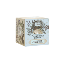 Tisane hiver Boite cube métal