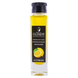 Huile d'olive arômatisée au citron