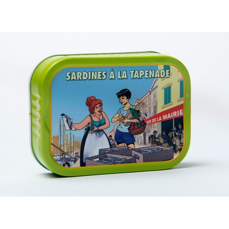 Sardine à la Tapenade