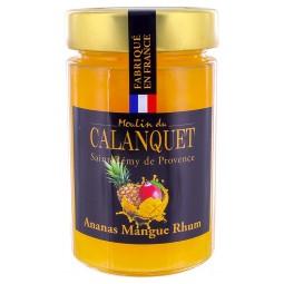 Pineapple Jam, Mango with Rhum-flavoured 220 g