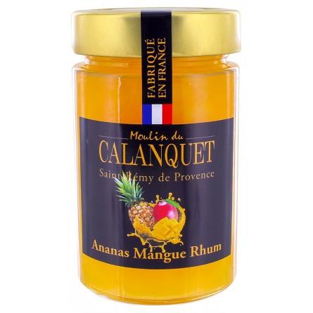 Confiture Ananas Mangue Rhum 220 g