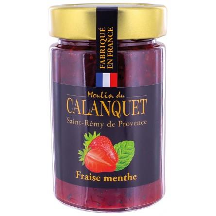 Erdbeermarmelade Pfefferminze 220 g