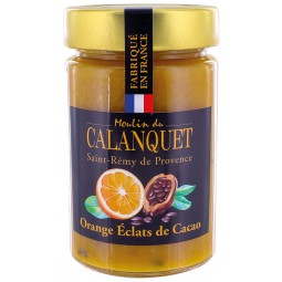 Confiture Orange Eclats de Cacao 220 g