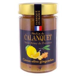 Confiture Citron Olive Gingembre 220 g