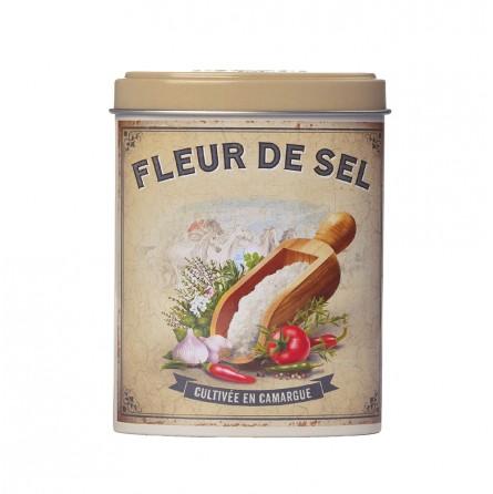 Boite verseuse fleur de sel