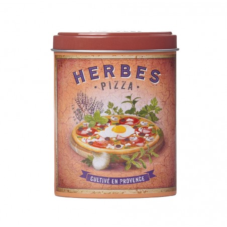 Boite verseuse herbes Pizza