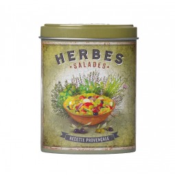 Boite verseuse herbes salades