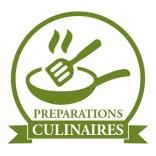 Kulinarische zubereitung