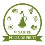 Vinegars fruit pulp