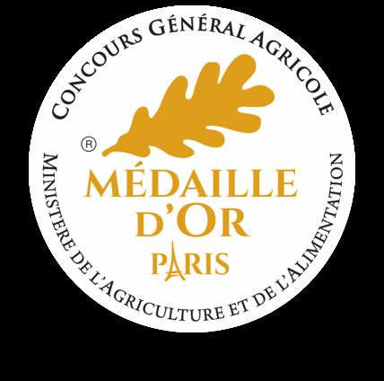 Médaille d'or huile d'olive assemblage Moulin du Calanquet